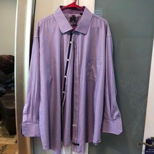 19 neck 34/35 purple English Laundry big and tall